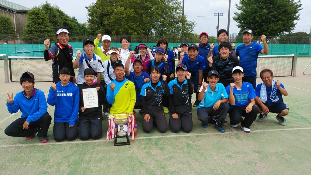 令和元年度 ~第23回 県地区対抗ソフトテニス大会~